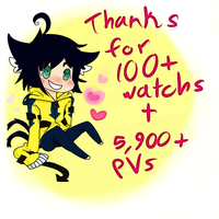 Thanks for 100+ watches by Hackwolfin