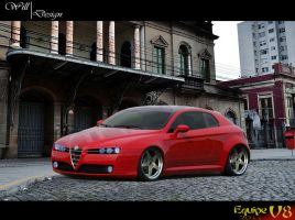 Alfa Romeo Brera by WillCarDesign