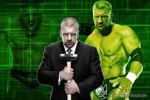 wwe Triple H: Green pic by celtakerthebest