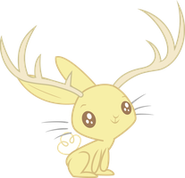 Awestruck Jackalope by Decimix