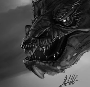 The Hobbit: Smaug fanart by xynode