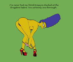 Marge's Blood pressure by HomerJySimpson