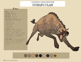 [Un-Divided] Kali Character Sheet_Uchafu Clan by faithandfreedom