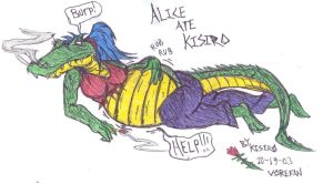 Alice the Gator Classic by KisiroBelmont