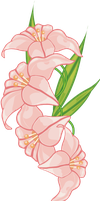 pink flower 10 by MaxandPercy4ever
