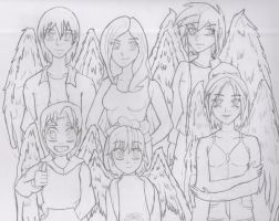 Maximum Ride - The Flock by BenjiPrice