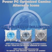 Camino Optimized for Power PC Macs Custom Icons by SgtMjrTibbets
