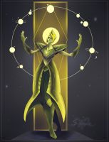 Yellow Diamond by TheSphinxDen