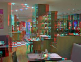 Closing Hour - Anaglyph 3D by zour
