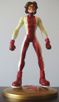 Impulse action figure by UltimeciaFFB