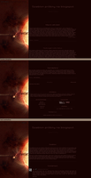 Blogspot template: Universe by stupid-owl