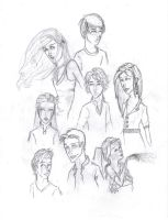 Brinea character sketches by dot-dashlee