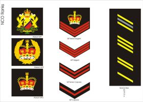 Imperial Security Bureau NCO Ranks by Ienkoron