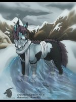 Cold mountains by thelunapower