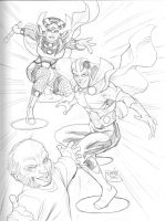 052520141 Mr Miracle Barda by guinnessyde