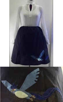 Articuno Poodle Skirt by knacc