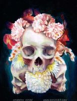 Flowers for Skulls by Quidfish