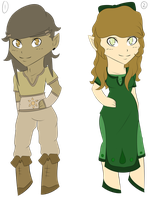 Adoptables: Hylian Set 1 OPEN by EtherealApricity