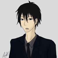 Some Buisness Dude by Aradia617