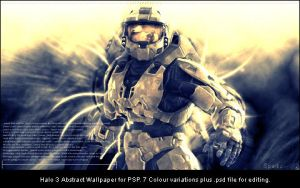 Halo 3 Wallpaper for PSP by Pokehkins