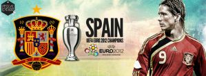 Spain UEFA 2012 Facebook cover photo by Chadski51