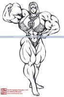 Lady Urd Champion Bodybuilder by muscle82002