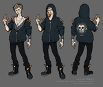 Jakob Frost Character Sheet Normal Attire by tinhan