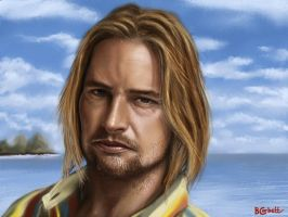 Sawyer - Josh Holloway by BillCorbett