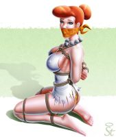 Captive 16 Wilma Flintstone by TheSaintofpain