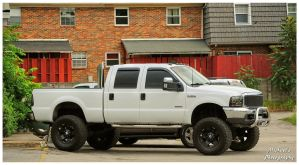 A Ford F-350 Lariat Super Duty 4x4 by TheMan268