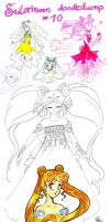 Sailormoon doodledump 10 by NitroFieja