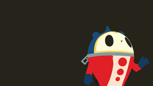 Persona 4 Teddie Minimalist Wallpaper (Ver 2) by GaryMotherPuckingOak