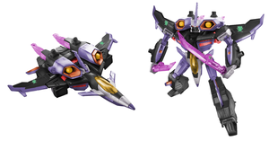 Skywarp Digibash by Air-Hammer