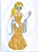The Champagne Dress by animequeen20012003