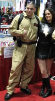 Mary Marvel and my Ghostbuster by Ave606
