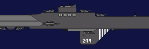 Just Retribution Class Heavy Cruiser by Toby-Phealin