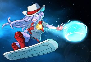 Awesomenauts - Sheriff Coco by shamserg