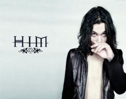 Ville Valo wallpaper by HIM2591