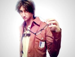 Eren Jaeger Cosplay by Aorko