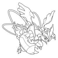 BLACKKYUREM(LINEART) by blackkyurem2