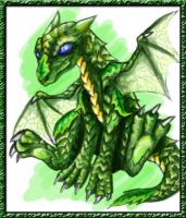 Hatchlings: Leucadendron by rosedragoness