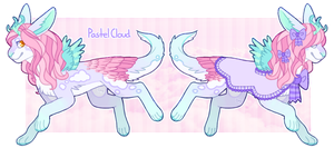 Avilope Advent 2014 - Day 11 - Pastel Cloud by Dogquest