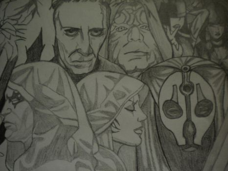 The Sith and The Servants by ScFiGirl