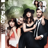PNG Pack(403) Dakota and Jamie by BeautyForeverr
