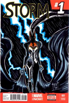 Storm Sketch Cover by John Yuan by TheYuanTwins
