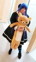 Panty and Stocking - With Rilakkuma by CherryMemories