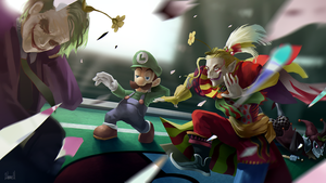 Crossovers - Luigi's Final Smash by Skence