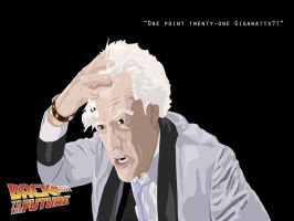 Back to the Future Wallpaper 3 by morphindel