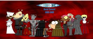 Doctor Who 2005-2009 by Moon-manUnit-42