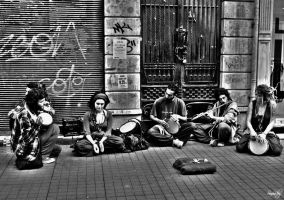 Street Musicians by sinanrby